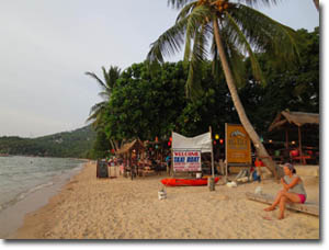 Playa Sairee Beach en Ko Tao