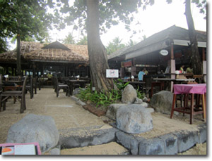 Restaurantes en la playa de Railay